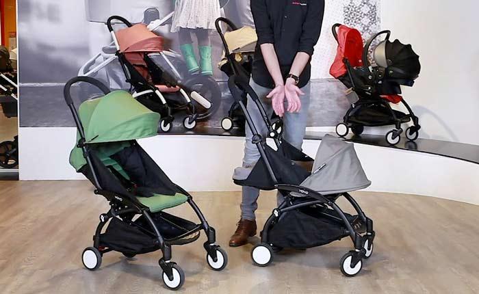Funzioni del passeggino Babyzen Yoyo