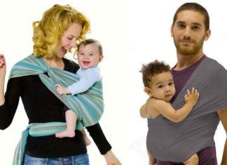 Fascia porta bambini