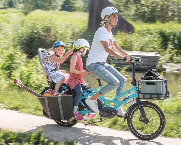 Seggiolino posteriore per bici