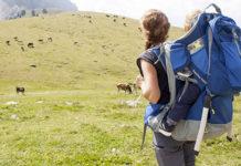 Zaino portabimbi da trekking