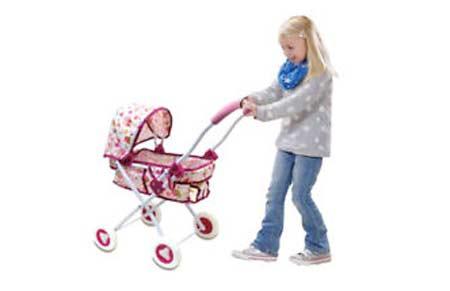Passeggino per bambole
