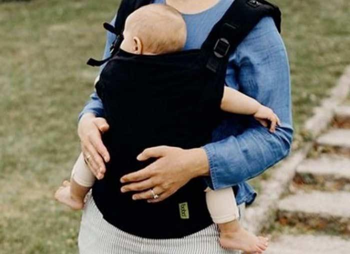 Marsupio per neonato ergonomico